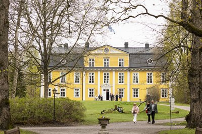 The museum in the Svartå Manor shows the long history of the place