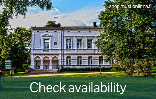 "The countryside hotel ""Svartå Manor"" in the South of Finland consists of five different historical buildings situated in an idyllic park with a scenic river flowing nearby."